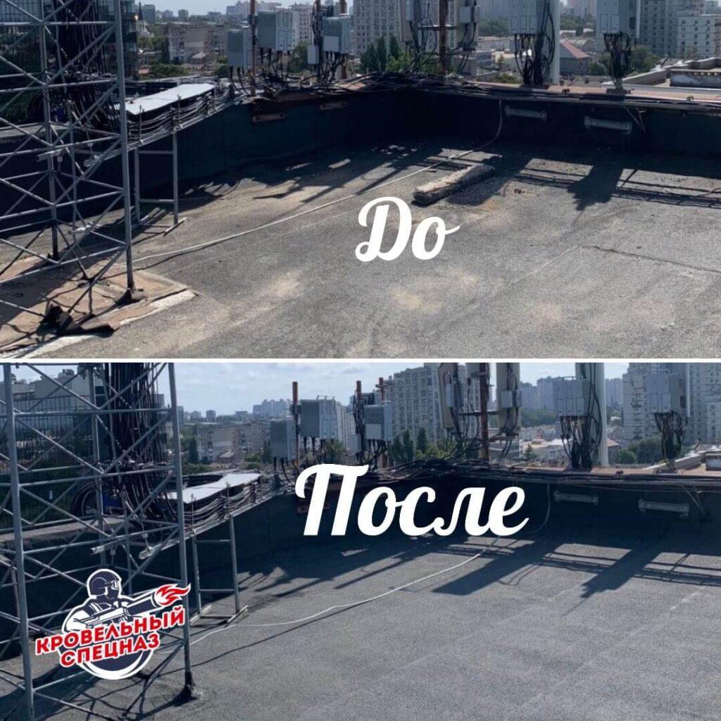 Ремонт мягкий кровли в Одессе