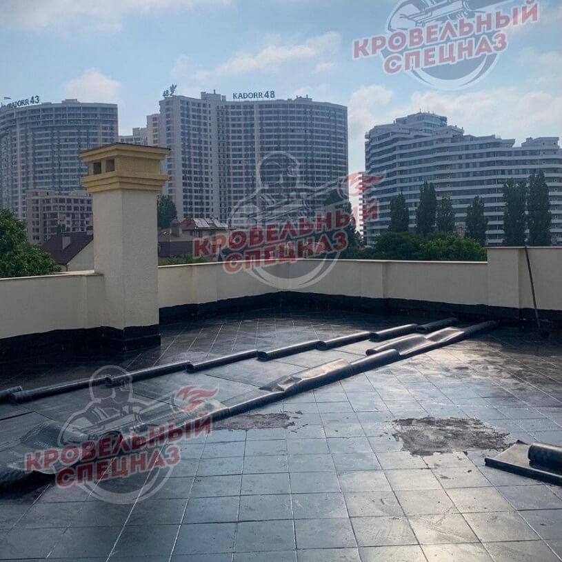 Гидроизоляция террасы в Одессе